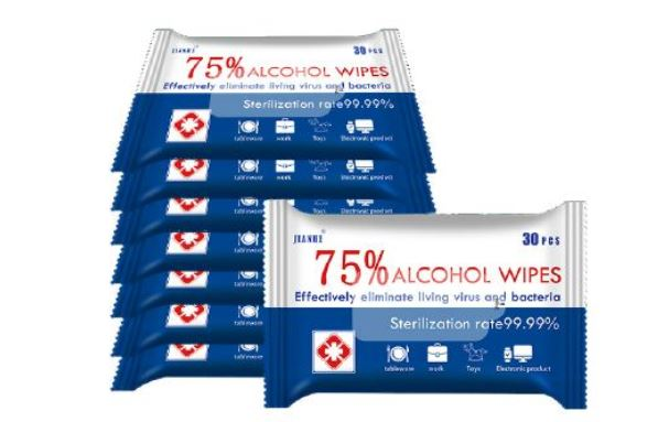 30 Count Sanitizing Wipes